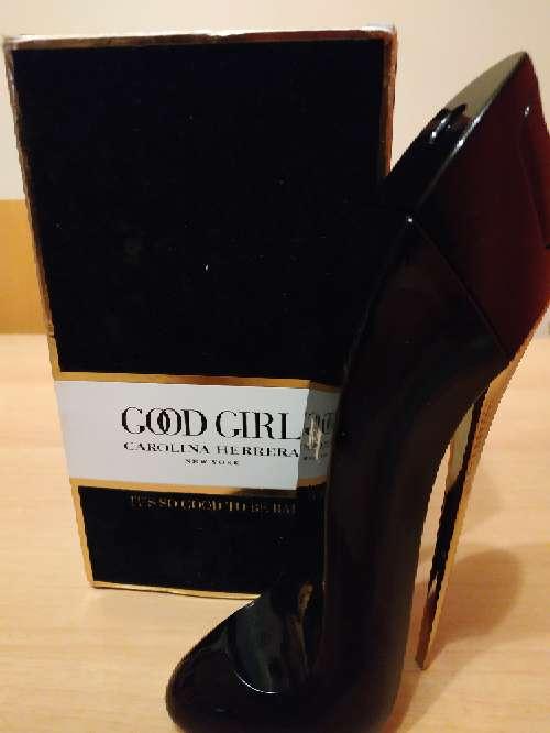 Imagen Caja y bote vacío perfume Good girl