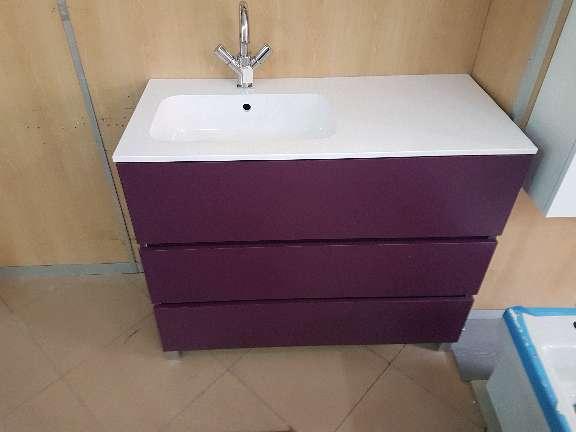 Imagen  mueble de baño 100 cm