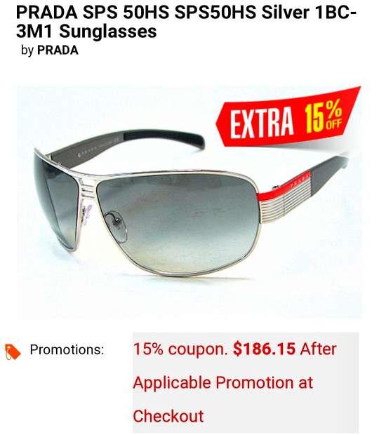 Imagen producto Gafas de sol Prada originales.  5