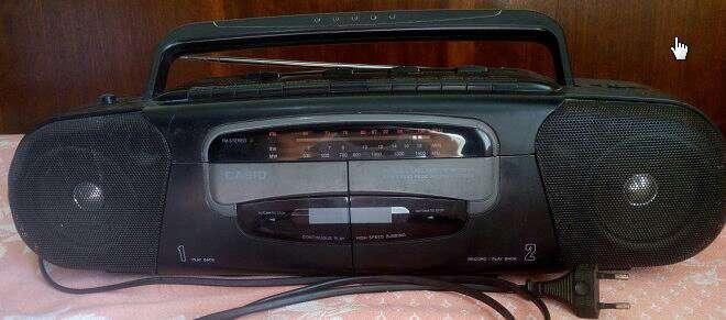 Imagen Bombox Radio Cassette Doble pletina
