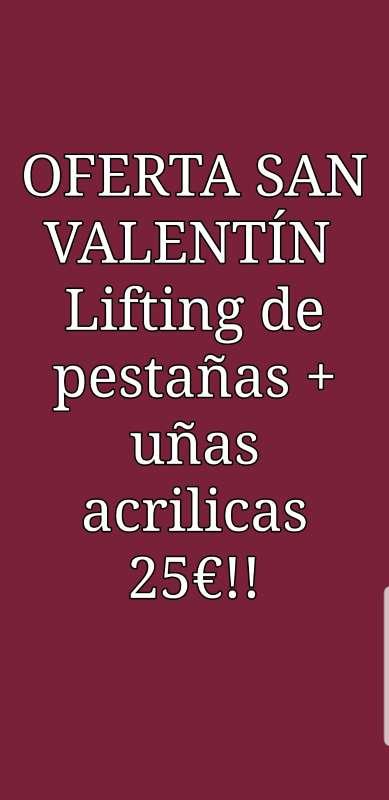 Imagen Oferta San Valentín uñas