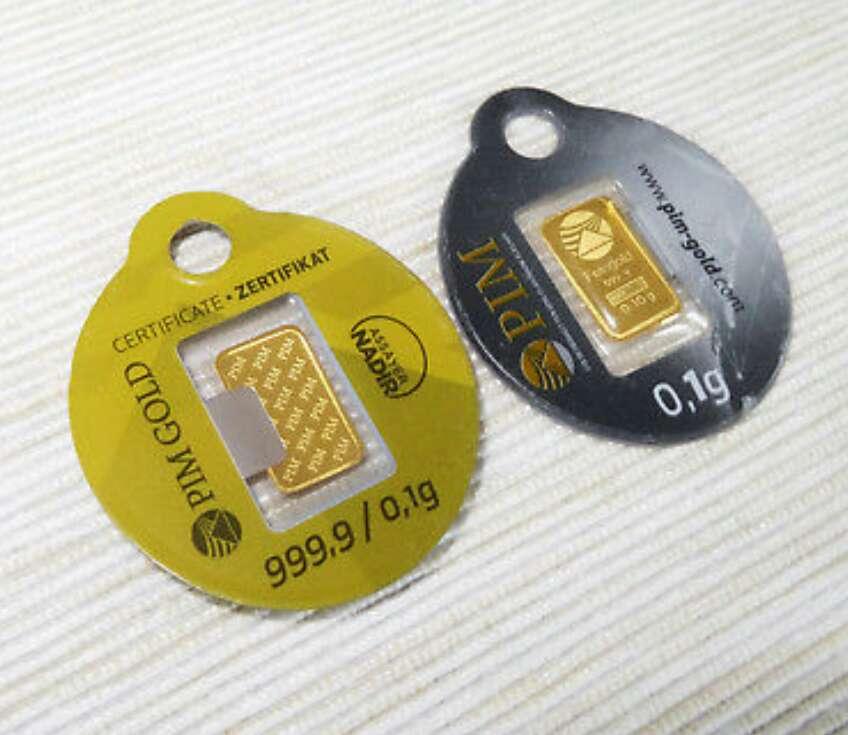 Imagen producto Lingote nuevo oro puro 999 PIM 3