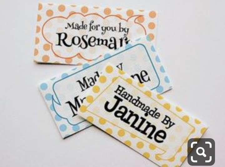 Imagen producto Etiquetas bordadas y estampadas  para ropa 4