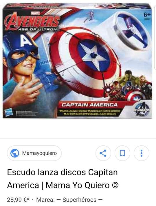 Imagen producto Escudo capitán América  3
