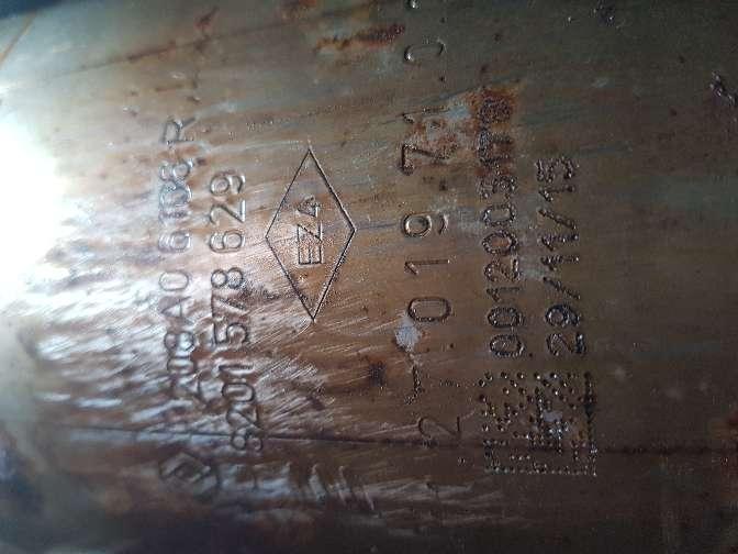 Imagen producto Filtro de partículas FAP, ref: 208A06106R  4