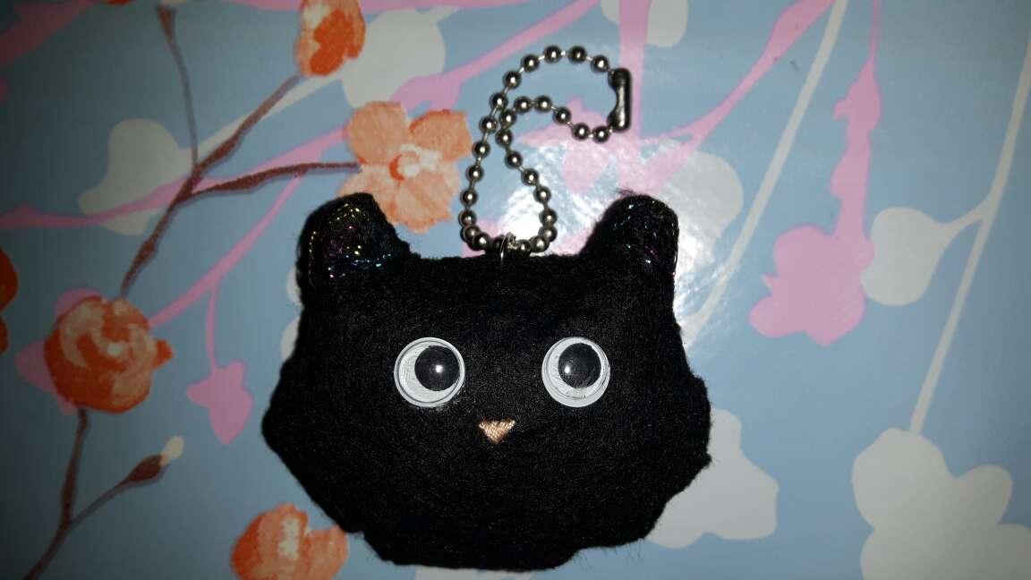 Imagen Llavero de gatito negro