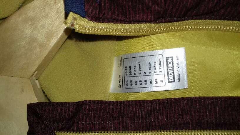 Imagen producto CHALECO NIÑO talla 2 2