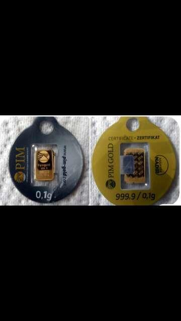 Imagen producto Lote oro 999 y plata 999 3