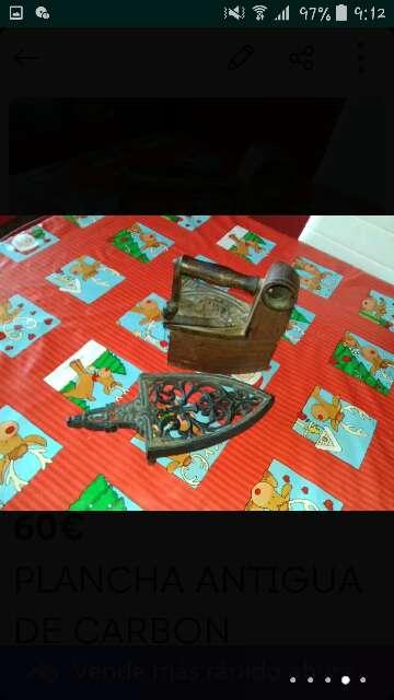 Imagen producto Plancha antigua 2