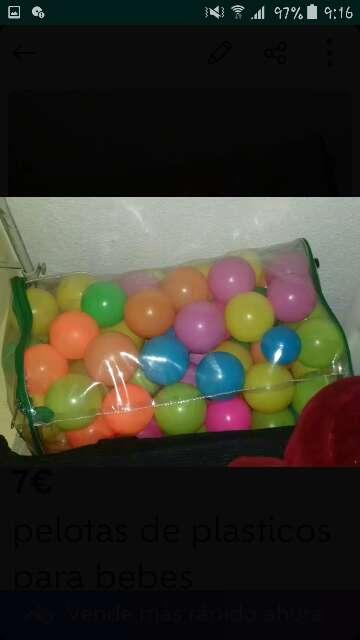 Imagen BOLSA DE pelotas de plasticos