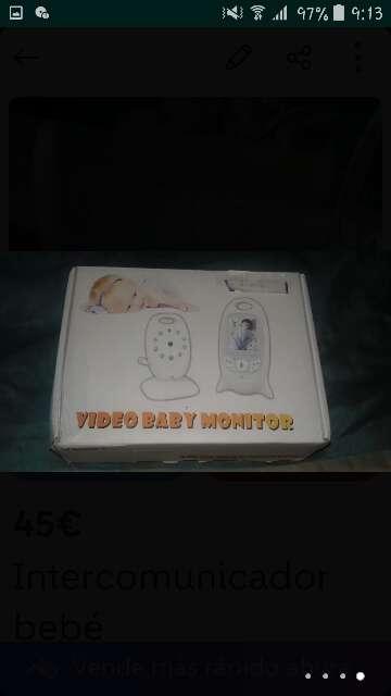 Imagen Intercomunicador de bebes
