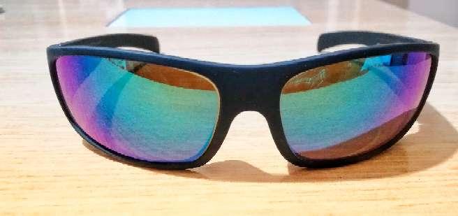 Imagen Gafas de sol deportiva con espejo verde. Bajada de precio