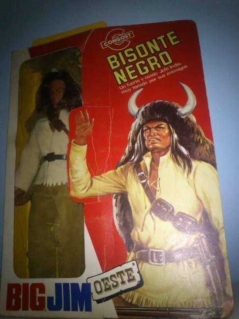 Imagen producto Big Jim Bisonte negro. Años 70  2