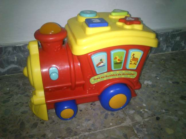 Imagen Tren infantil con Luces y Melodías