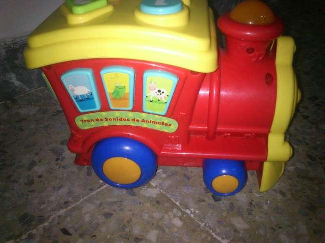 Imagen producto Tren infantil con Luces y Melodías 4