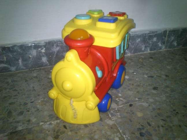 Imagen producto Tren infantil con Luces y Melodías 3