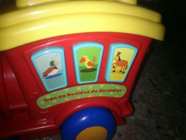 Imagen producto Tren infantil con Luces y Melodías 2