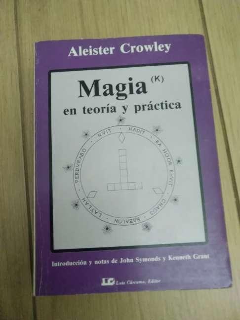 Imagen producto MAGIA (K) en teoría y práctica. Crowley, Aleister 1ª ed., 1986 4
