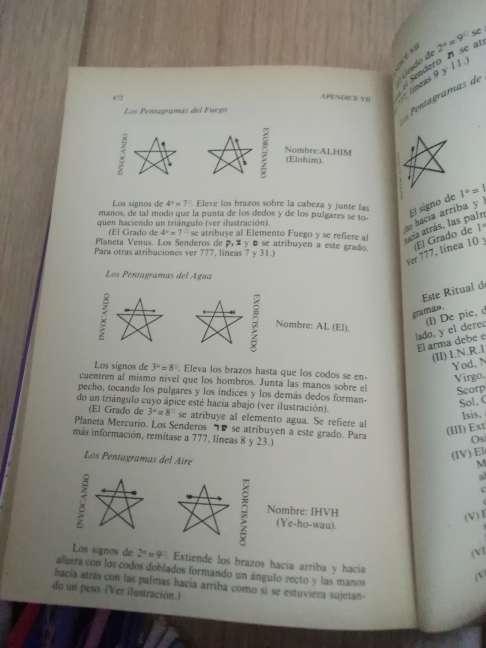 Imagen producto MAGIA (K) en teoría y práctica. Crowley, Aleister 1ª ed., 1986 3