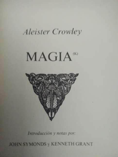 Imagen producto MAGIA (K) en teoría y práctica. Crowley, Aleister 1ª ed., 1986 9
