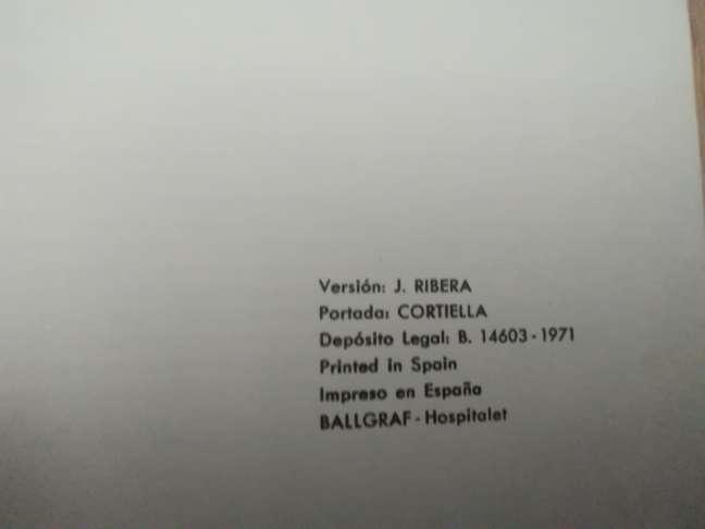 Imagen producto El judío errante. Año 1971 (coleccionista). IMPECABLE 2