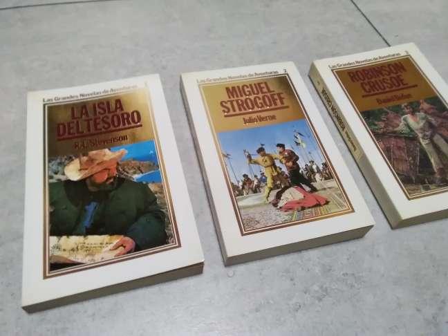 Imagen producto 15 libros. Grandes novelas de aventuras. ORBIS, 1986 7