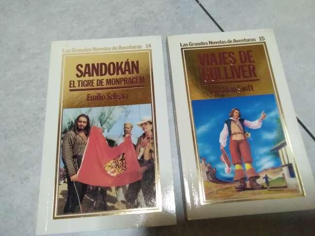 Imagen producto 15 libros. Grandes novelas de aventuras. ORBIS, 1986 3