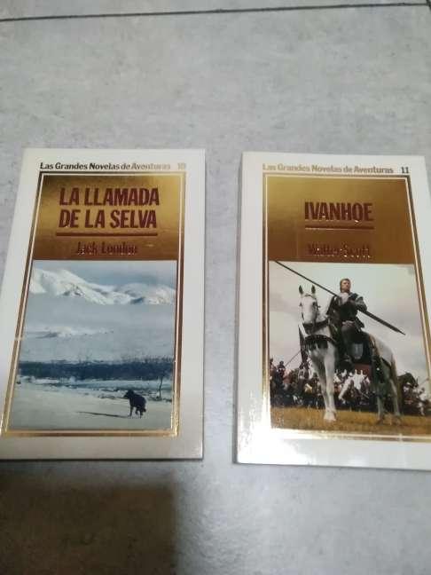 Imagen producto 15 libros. Grandes novelas de aventuras. ORBIS, 1986 4