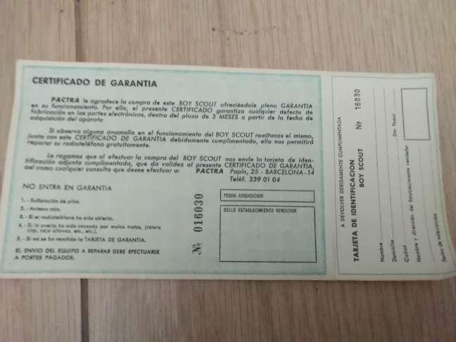 Imagen producto RADIOTELÉFONO años 70 (coleccionismo) 3