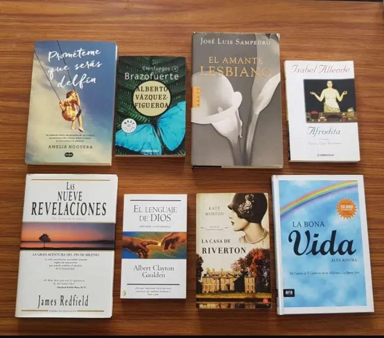 Imagen Lote libros.