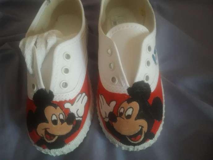 Imagen Mickey mause zapatillas