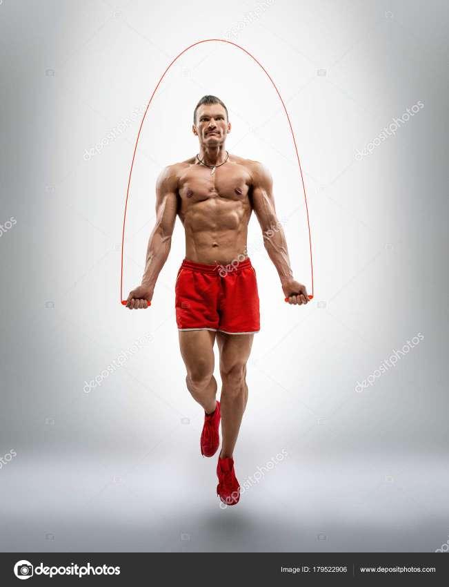 Imagen Aparato digital fitness. Pila de botón de regalo