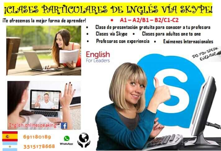 Imagen producto Clases de Inglés online - A1-A2-B1-B2-C1-C2 3