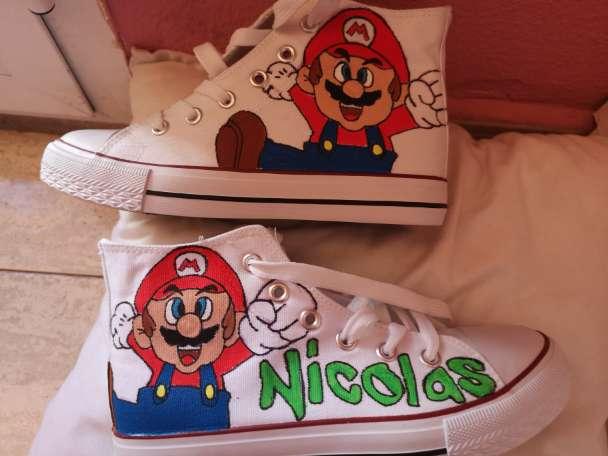 Imagen Mis botas Mario bross