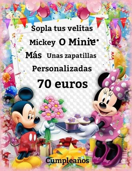 Imagen Mickey o Minie!! Elige tu personaje!