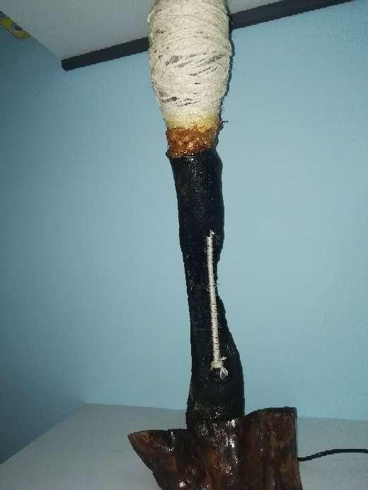 Imagen producto Lámpara diseño. Ecológica. NUEVA. 65cm altura 2