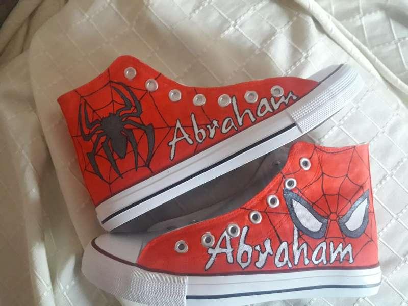 Imagen Spiderman en mis botas