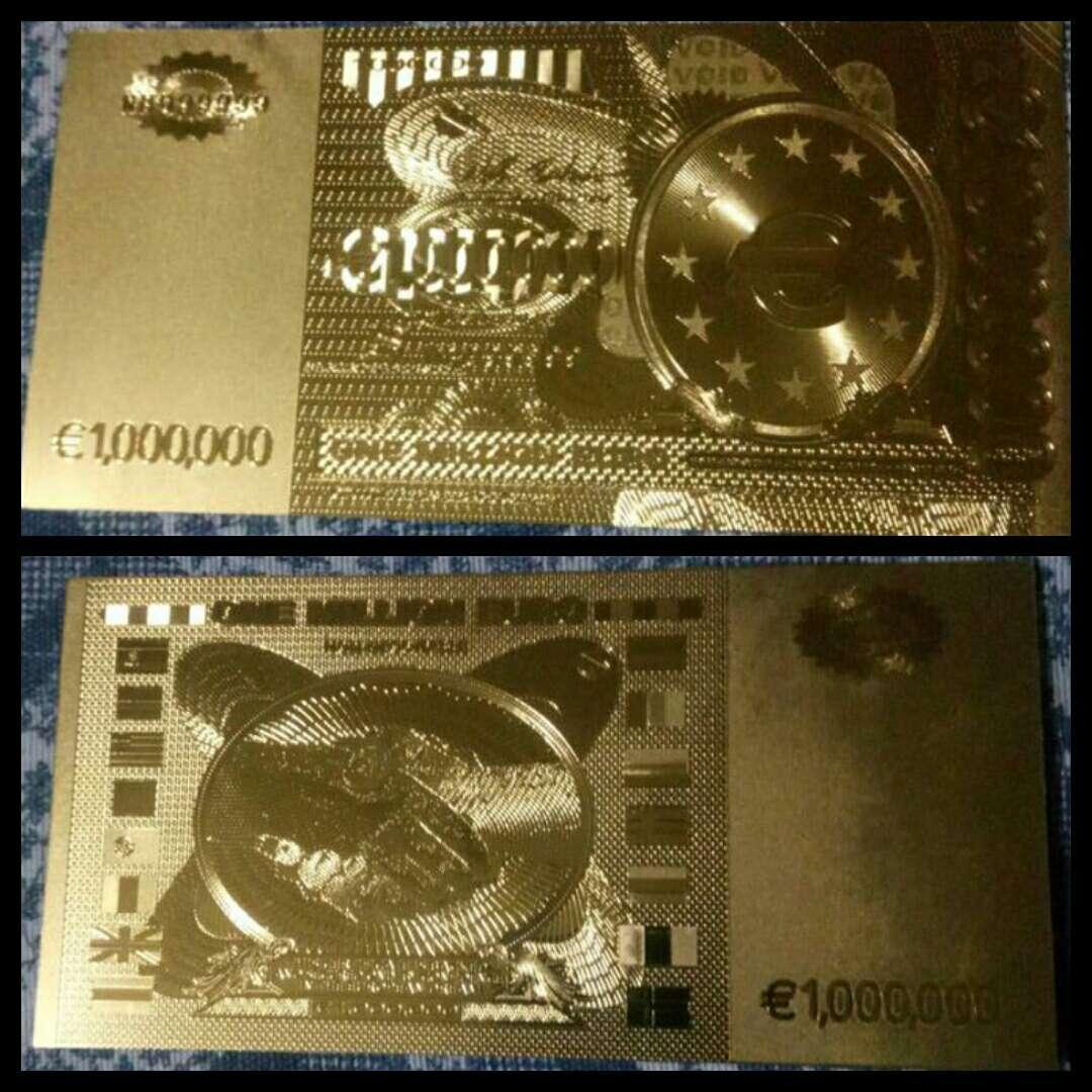 Imagen producto Billete de colección 1 000 000 euros  9