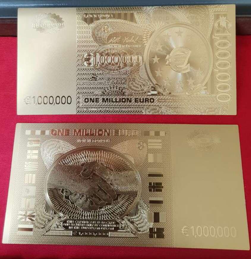 Imagen producto Billete de colección 1 000 000 euros  10