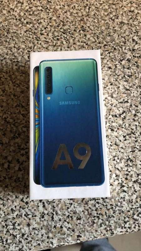 Imagen producto Samsung galaxy a9 color azul 2