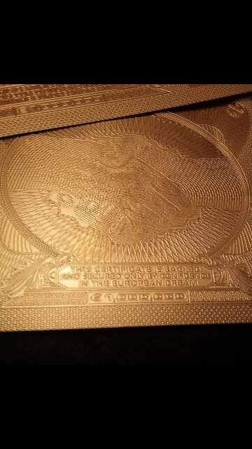 Imagen producto Billete de colección 1 000 000 euros  3