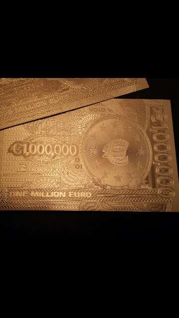 Imagen producto Billete de colección 1 000 000 euros  2