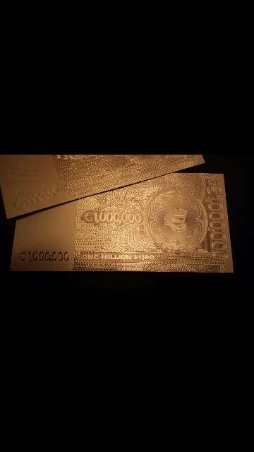 Imagen producto Billete de colección 1 000 000 euros  4