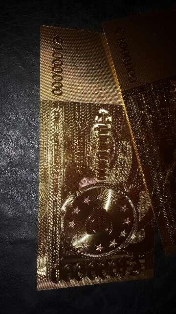 Imagen producto Billete de colección 1 000 000 euros  6