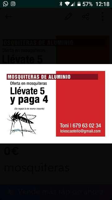 Imagen mosquiteras