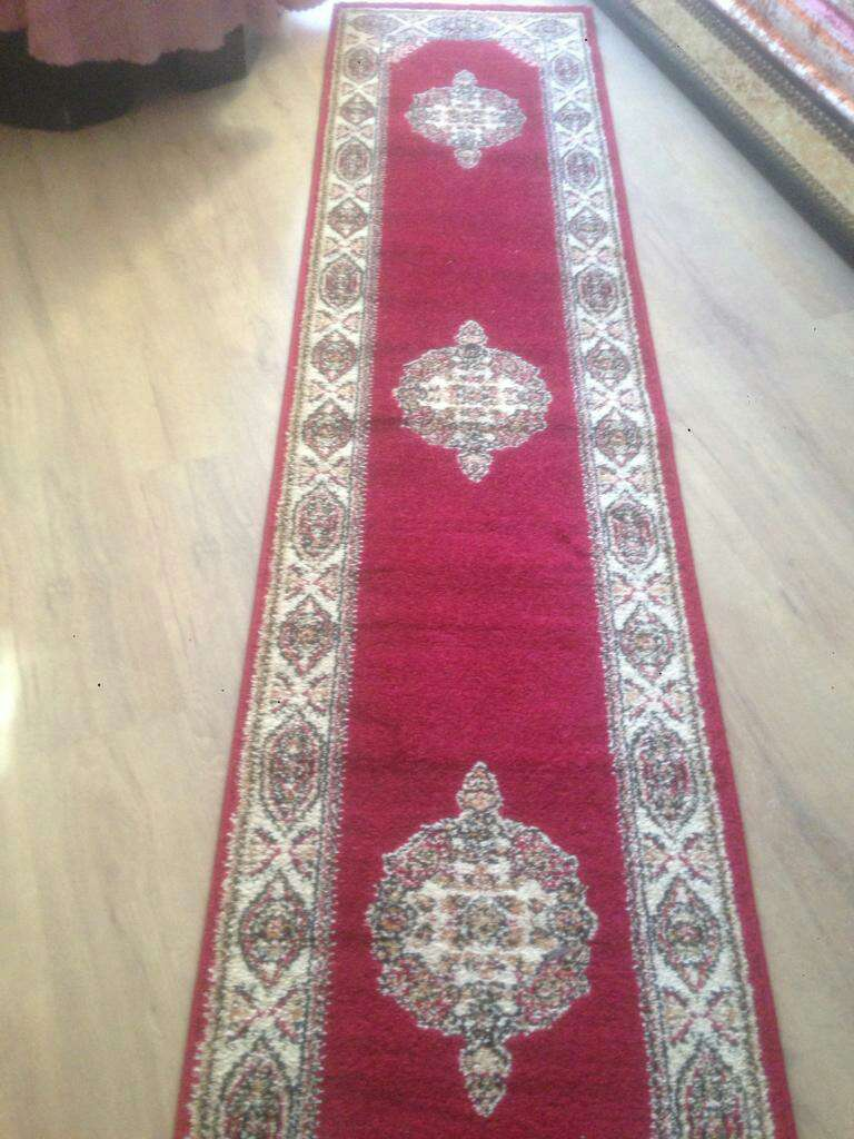 Imagen alfombra pasillo estilo Turca 2,60x0,60