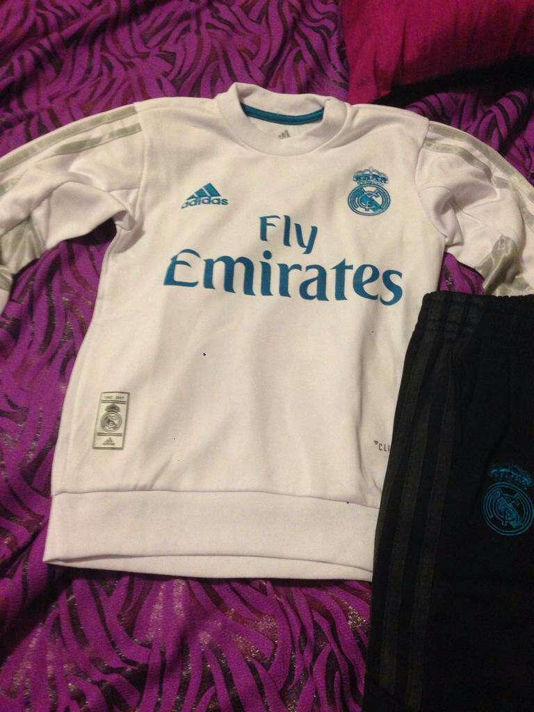 Imagen producto Chándal Real Madrid niños, juvenil y adultos 2