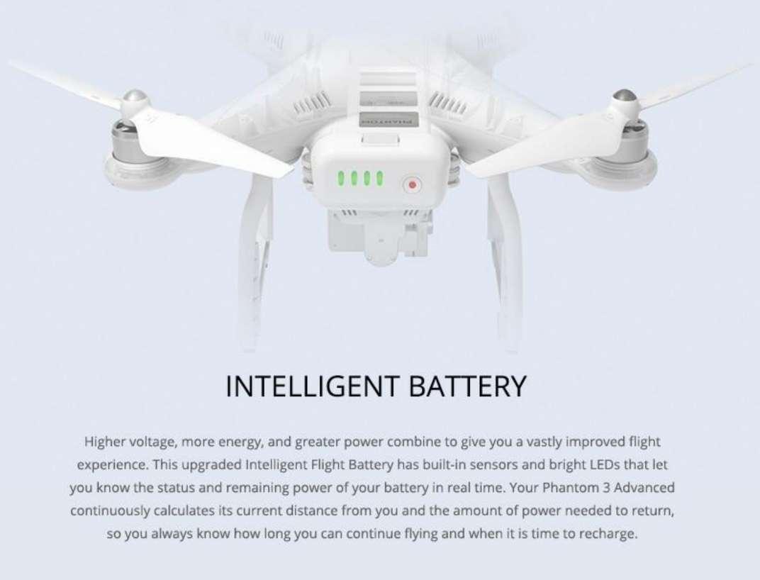 Imagen producto Dron DJI phantom 3 advanced 2