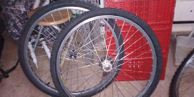 Imagen ruedas de bicicleta