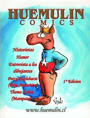 Imagen Huemulin Comics Dibujante Jaime Galo TEBEOS Cartoons